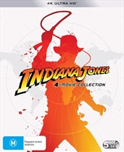 Indiana Jones | UHD - 4 Pack - Franchise Pack | UHD