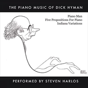 Piano Music Of Dick Hyman Performed By Steven Harlos | CD