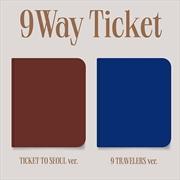 9 Way Ticket - 2nd Single Album - Random Cover | CD