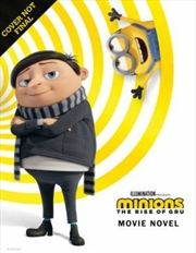 Minions The Rise Of Gru - Movie Novel | Paperback Book
