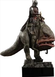 Star Wars: The Mandalorian - Mandalorian & Blurrg 1:6 Scale Action Figure Set   Merchandise