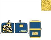 Loungefly - Minions - Triple Minion Bello Zip Purse | Apparel