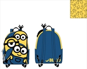 Loungefly - Minions - Triple Minion Bello Mini Backpack | Apparel