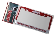 Jaws - Bigger Boat License Plate Frame | Homewares