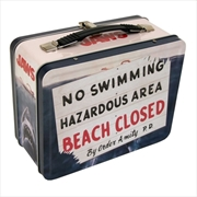 Jaws - Beach Closed Tin Tote | Lunchbox