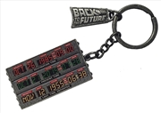 Back to the Future - Time Circuit Keychain | Accessories