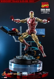 "Iron Man - Iron Man Origins Deluxe 1:6 Scale 12"" Diecast Action Figure 