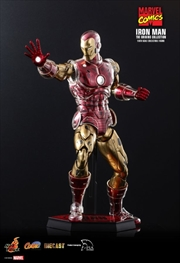 "Iron Man - Iron Man Origins 1:6 Scale 12"" Diecast Action Figure 