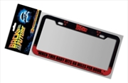 Back to the Future - 88 MPH License Plate Frame | Homewares