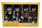 The Beatles - 4 Band Member Plush Box Set | Toy