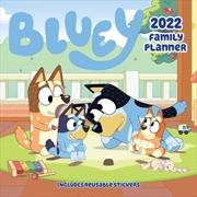 Bluey Family Planner 2022 Square Calendar | Merchandise