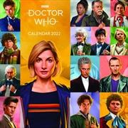 Doctor Who 2022 Square Calendar | Merchandise