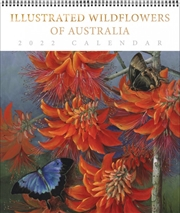 Illustrated Wildflowers Of Australia Deluxe Calendar  | Merchandise