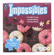 Yes Please Donuts 1000 Piece Puzzle | Merchandise