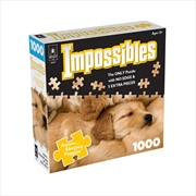 Aww Sleeping Puppies 1000 Piece Puzzle | Merchandise
