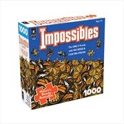 Nature's Beauty Butterflies Impossibles1000 Piece Puzzle | Merchandise
