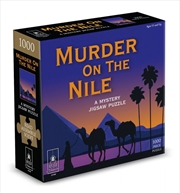 Murder On The Nile Mystery Puzzle - 1000 Piece | Merchandise