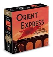Orient Express Mystery Puzzle - 1000 Piece | Merchandise