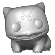 "Pokemon - Bulbasaur Silver Metallic 25th Anniversary US Exclusive 10"" Pop! Vinyl [RS] | Pop Vinyl"
