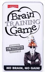 Brain Training Game Tin | Merchandise