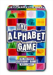 Alphabet Tin | Merchandise