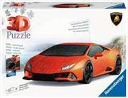 Ravensburger - Lamborghini Huracan EVO Puzzle 108 Pieces | Merchandise