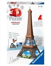 Ravensburger 3D Puzzle Minis Collection 54 Pcs Eiffel Tower | Merchandise