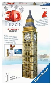 Big Ben Mini 3D 54 Piecce Puzzle | Merchandise