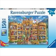 Ravensburger Cutaway Castle Puzzle 150 Piece | Merchandise