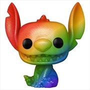 Lilo & Stitch - Stitch Rainbow Pride Diamond Glitter US Exclusive Pop! Vinyl [RS] | Pop Vinyl