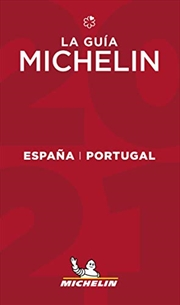 The MICHELIN Guide Espana Portugal (Spain & Portugal) 2021: Restaurants & Hotels (Michelin Red Guide   Paperback Book