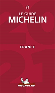 The MICHELIN Guide France 2021: Restaurants & Hotels (Michelin Red Guide France) (French Edition)   Paperback Book