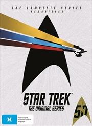 Star Trek The Original Series - Season 1-3 | Carton - Remastered | DVD