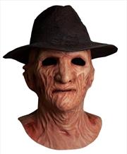 Nightmare on Elm Street 2: Freddy's Revenge - Freddy Deluxe Mask & Hat | Apparel
