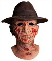 Nightmare on Elm Street - Freddy Deluxe Mask & Hat | Apparel