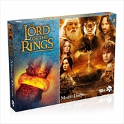 The Lord of the Rings - Mount Doom 1000 Piece Jigsaw Puzzle   Merchandise