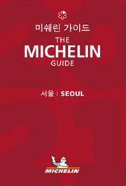 2021 Red Guide Seoul   Paperback Book
