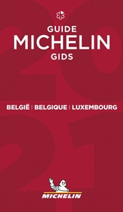 2021 Red Guide Belgium & Luxembourg   Paperback Book