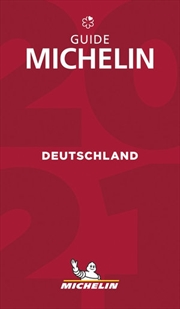 The MICHELIN Guide Deutschland (Germany) 2021: Restaurants & Hotels (Michelin Red Guide Deutschland)   Paperback Book