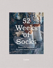 52 Weeks of Socks: Beautiful patterns for year-round knitting | Paperback Book