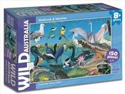 Wild Aust Wetlands & Marshes Puzzle 150pc | Merchandise