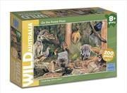 Wild Australia On the Forest Floor Puzzle 200pc | Merchandise