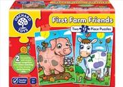 Orchard Jigsaw - First Farm Friends 2 x 12 pc | Merchandise