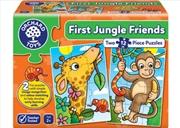 Orchard Jigsaw - First Jungle Friends 2 x 12 pc | Merchandise