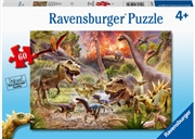 Dinosaur Dash 60pc Puzzle | Merchandise