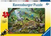 Rainforest Animals 60pc Puzzle | Merchandise