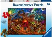 Space Construction 60pc Puzzle   Merchandise