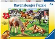 Happy Horses 60pc Puzzle | Merchandise