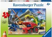 Construction Trucks 60pc Puzzle | Merchandise