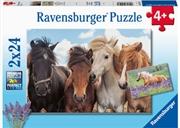 Horse Friends  2 X 24 Piece Puzzle   Merchandise
